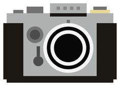 8-bit Camera Icons