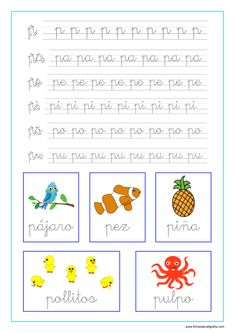 Letter Tracing Worksheets, Tracing Letters, Writing Worksheets, Flashcards For Kids, Pre Writing, Learn French, Preschool Activities, Homeschool, Crafts For Kids