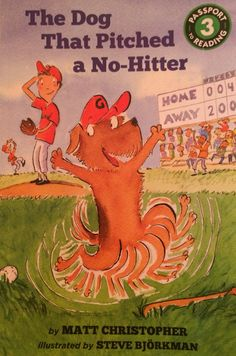 """One of Christopher's very first chapter reads - 5 chapters of baseball, talking dog fun! We started the junior chapter books after this one.  Grade level:  """"New Independent Reader."""""""
