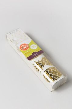 Gold Pineapple Wall Stickers $16.00