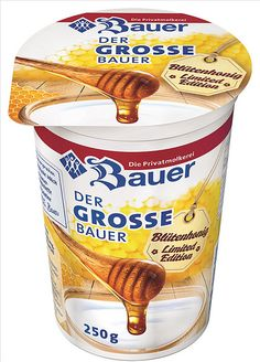 Bauer Limited Edition Yogurt, Honey