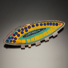 Julie Shaw, Brooch. Inspiration for Julie's original designs comes from many sources, including her spiritual connection to nature and travels to ancient and sacred places around the world.