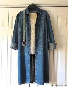 Stenciling an old denim jacket with Discharge Paste DIY   Paint + Pattern