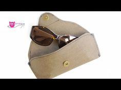 3 Minuten DIY: Sonnenbrillenetui aus SnapPap nähen - DIY Eule - YouTube