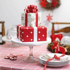 christmas cake Inspirations 1