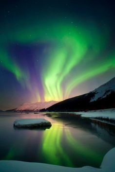 Aurora Borealis over Alaska  http://www.vacationrentalpeople.com/Vacation-Rentals.aspx/World/USA/Alaska
