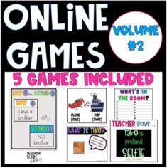 Fun Classroom Games Fun classroom games for kids classroom games elementary Games For Kids Classroom, Online Classroom, Brain Breaks, Teacher, Student, Activities, Play, Sayings, Professor
