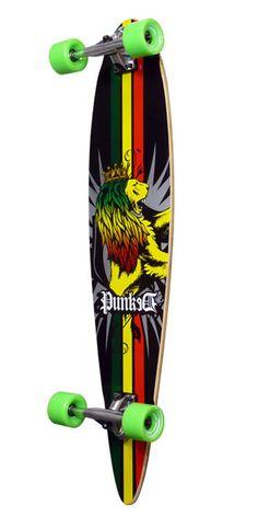 Longboard Rasta Pintail
