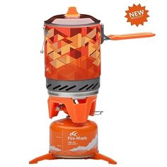 69.99$  Buy now - http://aliasa.worldwells.pw/go.php?t=32433497153 - 2015 New One-Piece Camping Stove Collector Pot Outdoor Camping Cooking Stove Fire Maple FMS-X2 600g 1.0L Multi-purpose Pot Rack