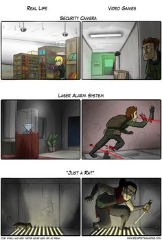 Real Life vs. Gaming Reality
