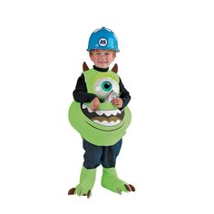 Monsters Inc. Mike Candy Catcher Kids Costume - OrientalTrading.com