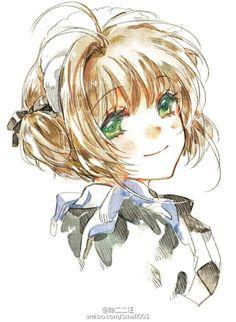 情头o(* ̄▽ ̄*)o画家@陈二二汪 (K Sakura - Cardcaptor Sakura) (Artist: 陈二二汪)