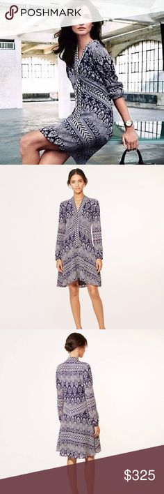 2ee9deecfef8 NWT Tory Burch Bourdelle Floral Silk Tunic Dress