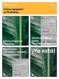5 trucos para modificar el color en Photoshop - Hello! Creatividad #photoshop #tips #fotografia #edicion
