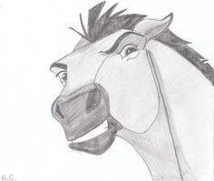 Spirit Stallion 3 by alvija on DeviantArt