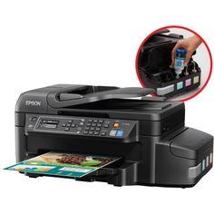 Epson WorkForce ET-4550 EcoTank All-in-One Printer/Copier/Scanner/Fax Machine - Walmart.com