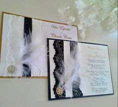 Image result for diy great gatsby shower invitations