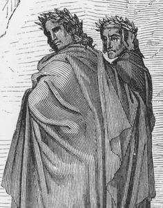 visual analysis dante and virgil in Summary and analysis canto iv bookmark dante and virgil then pass over the stream, go through the seven gates, and reach a green meadow.