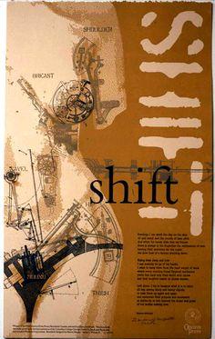 poetry broadside Poetry Art, Lettering Styles, Poster Designs, Type Setting, Medium Art, Letterpress, Fonts, Typography, Design Ideas