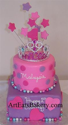 Birthday cake pink purple fondant ideas for 2019 - Birthday Cake Vanilla Ideen 1st Birthday Cake For Girls, Birthday Sheet Cakes, Birthday Cake Pictures, Cool Birthday Cakes, Birthday Cupcakes, Birthday Ideas, 5th Birthday, Husband Birthday, Birthday Nails