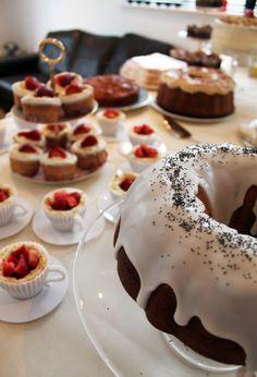 Lemon & Poppy Sid Cake @ Supernova studio Tea Party