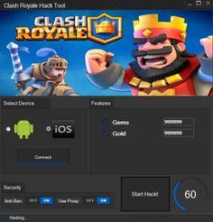 Clash Royale Hack – Gems Generator – HackCheatEngine.com