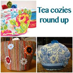 Quilted tea cozies round up | Sewn Up by TeresaDownUnder
