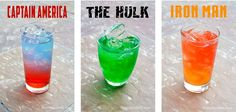 Avengers Non-Alcoholic Drinks