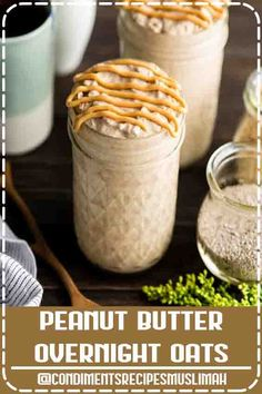 4.7 ★★★★★ - This Peanut Butter Chia Overnight Oats Recipe is an amazing, healthy breakfast full of protein and fiber! These vegan overnight oats are made with only 7 ingredients and take 5 minutes of prep time, so they are also a great meal prep idea for busy weeks! #overnightoats #peanutbutter #healthyrecipe #vitamix via @joyfoodsunshine  #Maple #Syrup #tapping #dessert