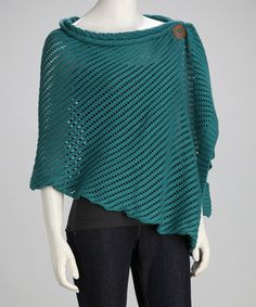 Take a look at this Teal Beachcomber Wrap by Simone Layne on #zulily today!