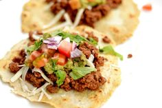 Make Taco Tuesday your favorite dinner of the week with this super easy and delicious ground beef taco recipe! Can be made in the Slow Cooker or Instant Pot! *Recipe has been updated with Instant Pot directions. If I have somehow given anyone the impression that dinner time around my house is always quiet with... Get the Recipe