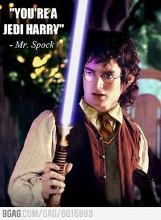 You're a Jedi Harry.