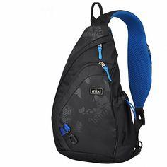 Buy Hanke Sling Chest Bag Shoulder Backpack Crossbody Bag Daypack for School Cycling Hiking Camping Sport Travel Messenger Backpack, Shoulder Backpack, Backpack Bags, Sling Backpack, One Shoulder, Sling Bags, Fashion Bags, Fashion Backpack, Men's Fashion