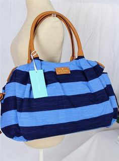 love this diaper bag. could it be a cute work bag? http://www.ebay.com/itm/KATE-SPADE-Jubilee-Stripe-Stevie-Blue-and-Navy-Canvas-Baby-Bag-Diaper-Tote-NWT-/111028735234?pt=US_Diaper_Bags=item19d9d40d02