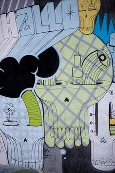 DUBLIN STREET ART - Tivoli Car Park [The Streets Of Ireland]