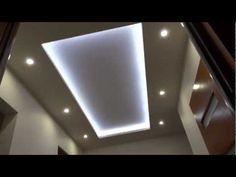 Sufit podwieszany taśma led. Ceiling lights, led strip