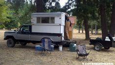 77Ford Highboy with 74 Alaskan - Alaskan Campers - Gallery - Wander the West