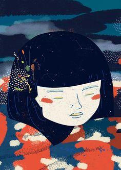 La vuelta al mes en 30 ilustradores 2015 on Behance