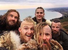 Image about cast in Vikings by Diana Fuentes on We Heart It