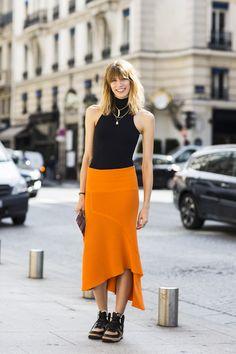 Paris Haute Couture AH 2014/15, outside Schiaparelli, Veronika Heilbrunner