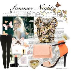 Summer Nights!, created by lynniecarmichael on Polyvore