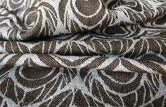 Artipoppe Argus The Beast (4)  Warp: ecru Egyptian cotton, Weft: darkbrown yak/merino, silver linen Weight: 338 gr/m