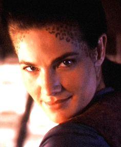 "Jadzia circa ""The Siege"", from the Official Star Trek: Deep Space Nine Magazine.  http://www.trekcore.com/specials/albums/rare/article13/jadzia_01.jpg"