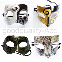 Men's Masquerade mask Masked Ball masks Stag Party Fancy dress Venetian Eye Mask | eBay