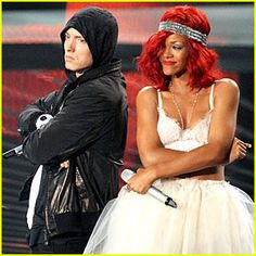 Eminem+Rhianna=Perfection Everytime they do a song together,I love it