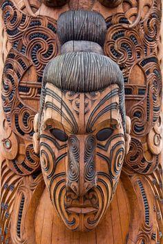 Rotorua Maori Carving
