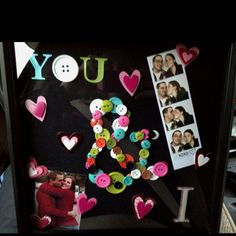 This is the valentines days present I have done for my boyfriend. I really hope he likes it