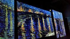 Mostra Van Gogh Alive - Roma Notte stellata sul Rodano
