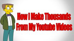 How I Make Thousands From My Youtube Videos - Make Money From Youtube http://www.youtube.com/watch?v=88xpnnHLRRA