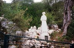 Site of the Eucharistic Miracle from the Angel of Peace, Fátima, Portugal , 1916.